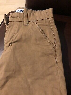 Boys NEXT Beige Chinos Trousers Age 12 Size 152 cm Excellent Condition