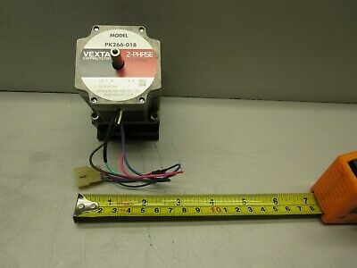Vexta (Oriental Motor Co.), Model PK266-01B, Stepping Motor, DC 1A, 7.4 Ohm