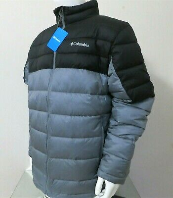 Columbia Men New Discovery Water Resistant Winter Bomber Jacket Puffer