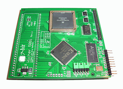 New Wicher 508i Amiga 500 / 500+ Turbo Card 11MB RAM + Fast IDE I2C MapROM #737