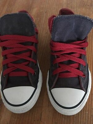 All Star Converse Blue/ Red Size 13