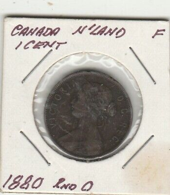 1880    Canada  One Cent Coin