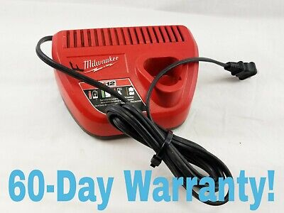 Genuine Milwaukee 48-59-2401 M12 12V Lithium Ion Battery Charger 12 Volt