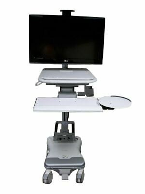 "Humanscale T5 Point of Care Cart Includes 26"" Monitor"