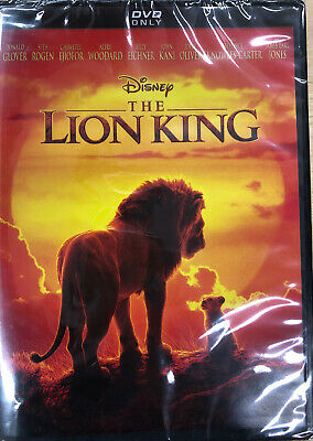 The Lion King (DVD, 2019) Brand New Sealed Region Code 1 FREE SHIPPING