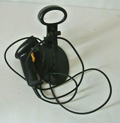 Wired Laser Barcode Scanner Handheld w/ Stand Free Ship