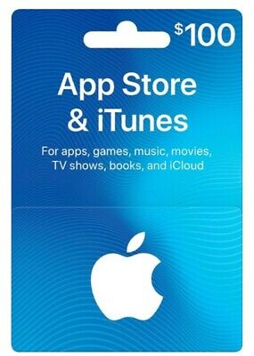 Apple App Store & iTunes $100 Gift Card