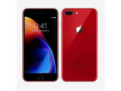 USED Apple iPhone 8 Plus GSM Unlocked  64GB 256GB RED COLOR A1897  USED GOOD