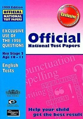 Very Good, Official National Test Papers: Key Stage 2 (Official National Test Pa