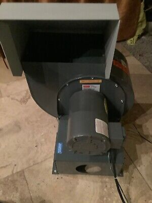 Baldor / Dayton Blower 1/3 Hp Out Of A Drive Cabinet