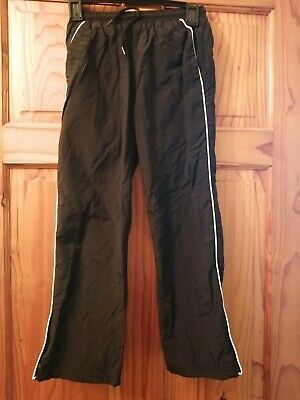 Boys Aged 8 Years Jogging Trousers With Zips At The Side.