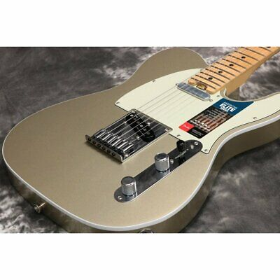 Fender American Elite Telecaster Champagne Maple W/ Original HC made in 2017 USA