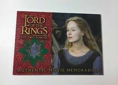 Lord Of The Rings Movie Memorabilia Relic Card Eowyn's Underfrock The Two Towers
