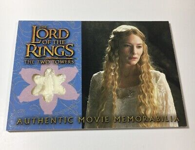 Lord Of The Rings Movie Memorabilia Relic Card Galadriel's Silk Chiffon