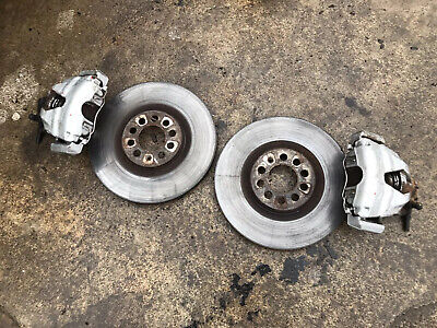 VW Golf MK4 V5 V6 4 Motion Front Calipers Carriers & Discs 312mm Upgrade GTI TDI
