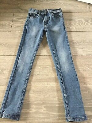 Boys M&co Super Slim Fit Jeans Size 8-9 Years
