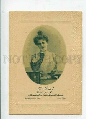 3091629 ADVERTISING Lovely Lady w/ BISCUITS PERNOT vintage Card