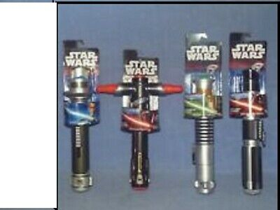 Star Wars Blade Builders Extendable Toy Lightsabers choose one - Red Blue Green