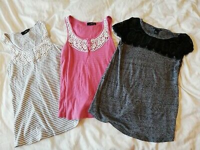 Bundle 3 maternity tops Next and H&M - Size 12 and M