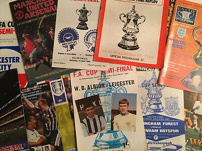 FA Cup Semi-Final Football Programmes *Choose from list* Multi Buy Discount!