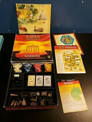 Catan Geographies Germany Board Game RARE