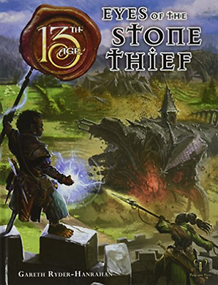 Ryder-Hanrahan Gareth-Eyes Of The Stone Thief (US IMPORT) HBOOK NEW