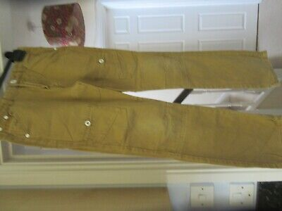 Lovely Boys RIPSTOP 100% Cotton light brown trousers Aged 10 to 11 years