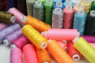 60 Colour Spools Strong Finest Quality All Sewing Purpose 15000 Yards 🌈