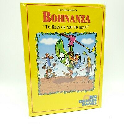 Bohnanza Game Rio Grande Games To Bean or Not to Bean Uwe Rosenbergs Sealed