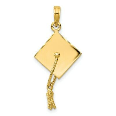 35mm Moveable Hair Straightener Charm Jewels Obsession 14K Yellow Gold 3-D