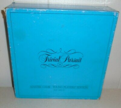 Trivial Pursuit Master Game Young Players Edition 1984 - Family Game Night #3434