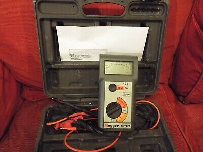 Megger MIT220 Insulation Tester Calibrated till 20.01.2021 USED