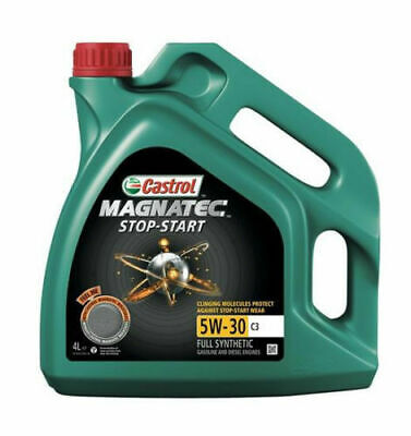 Castrol Magnatec Stop Start 5W-30 Fully Synthetic Engine Oil 5W30 C3 4 Litre 4L