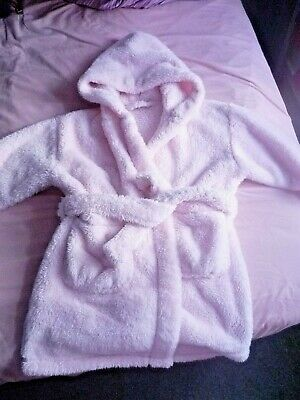 PINK DRESSING GOWN / ROBE - AGE 2-3 yrs - From NEXT