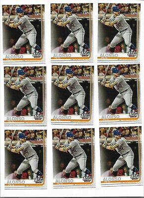 2019 Topps Update Pete Alonso AS #US47 LOT (35) New York Mets