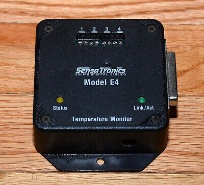 SensaTronics Environmental Temp Sensing Monitor - Model E4