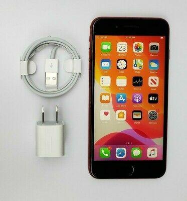 Apple iPhone 8 Plus 64GB Product Red GSM Factory Unlocked A1897 Fair