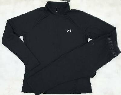Women's Size Small Under Armour Black Pullover & Black Capri Pants Outfit Nwt