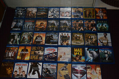 Lot #3 BluRay Movies Various Titles(OVER 50 TITLES TO PICK THROUGH) You Pick !!