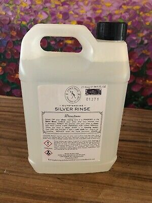 Silver Jewellery Cleaner Polishing Silver Rinse 2.5 Litres New Town Talk