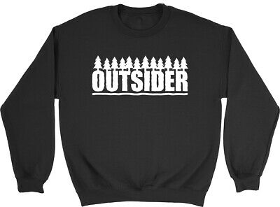 Outsider Boys Girls Kids Childrens Jumper Sweatshirt