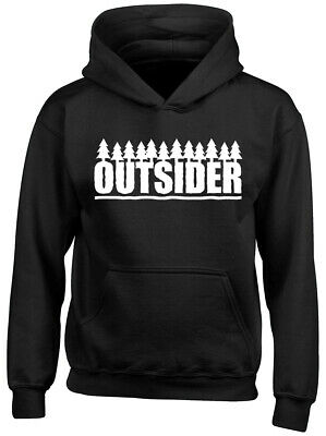 Outsider Boys Girls Childrens Kids Hooded Top Hoodie