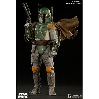 Sideshow Star Wars BOBA FETT Scum And Villainy 1:6 Sixth Scale Figure