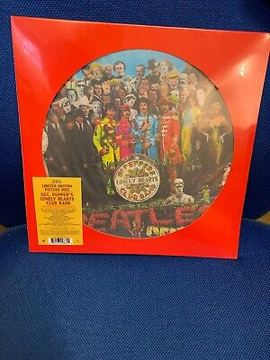 The Beatles - Sgt. Pepper's Lonely Hearts Club Band Picture Disc 2017 NEW