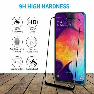9D Full Tempered Glass Screen Protector For Samsung Galaxy A70 A50 A51 A71 A20E