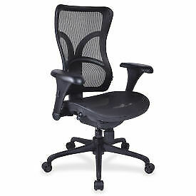 Lorell Full Mesh High-Back Adjustable Chair 20980  - 1 Each