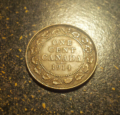 1914 Canada Large Cent - P1914-11