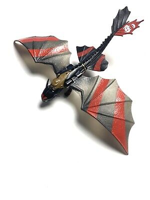 """2013 How to Train Your Dragon 11"""" Night Fury Toothless Spin Master Dreamworks"""