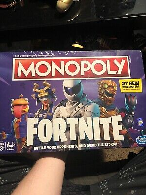 Monopoly: Fortnite Edition Board Game Purple Edition 27 New Characters