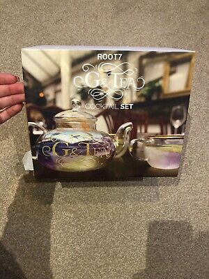 ROOT7 G & Tea Cocktail Set New Boxed G&T